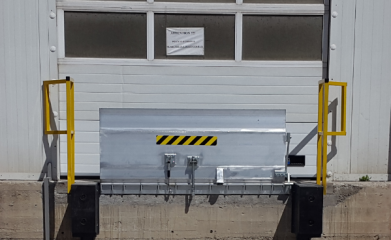 Mini rampe manuelle anti écrasement