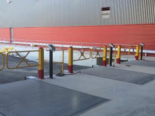 Pose et installation de barrières modulaires à Paris par l'entreprise Proquai